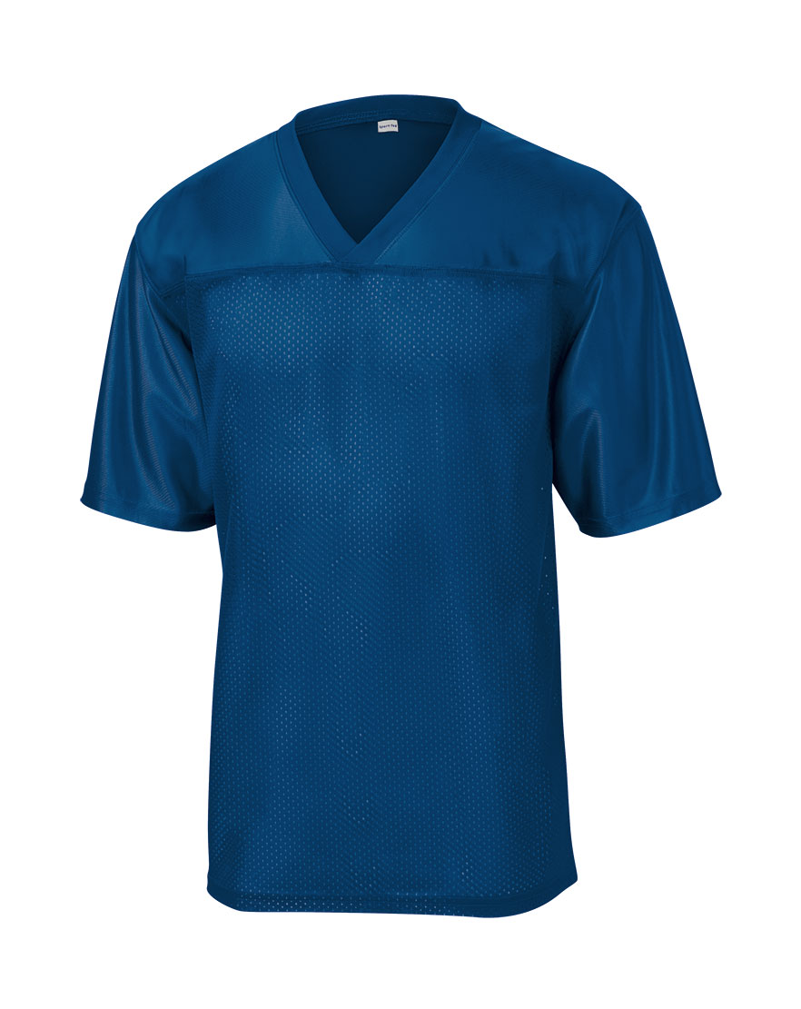 Sport-Tek® Mens Replica Football Fan Jersey