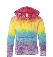 Custom Weatherproof® Youth Girls Courtney V-Notch Sweatshirt