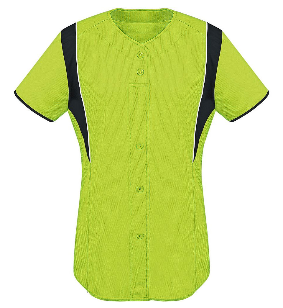 Youth Girls Faux Front Jersey