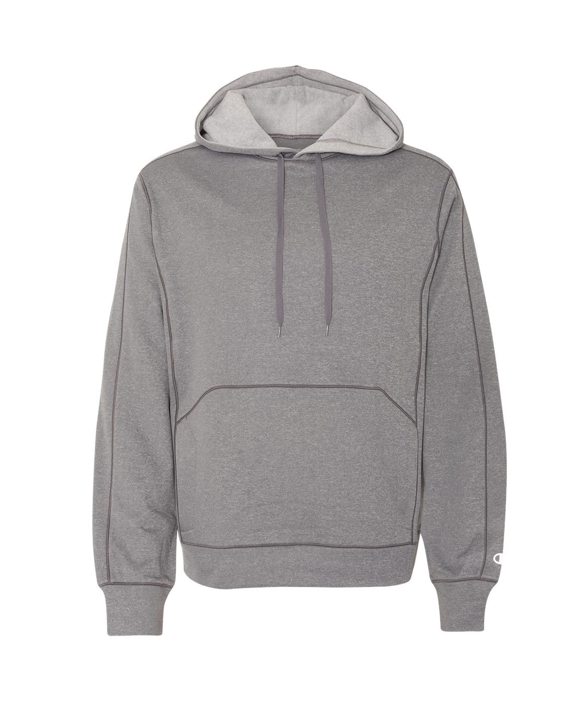Champion Mens  Performance Colorblock Pullover Hooded Fleece
