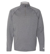 Custom Champion 5.4 oz Performance Fleece Quarter-Zip Pullover