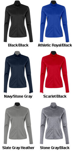 Champion Ladies 5.4 oz Performance Colorblock Full-Zip Jacket - All Colors