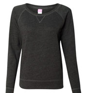 Custom Ladies French Terry Slouchy Pullover