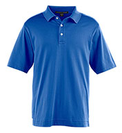 Custom Devon & Jones Mens Pima-Tech™ Jet Pique Polo