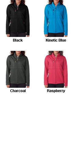 UltraClub Ladies Quilted Fleece Jacket - All Colors
