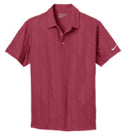 Custom Nike Golf Mens Dri-Fit Embossed Polo