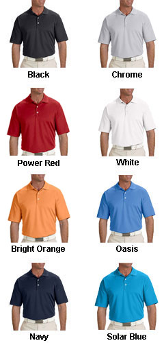 Adidas Golf Mens Climalite® Solid Polo - All Colors