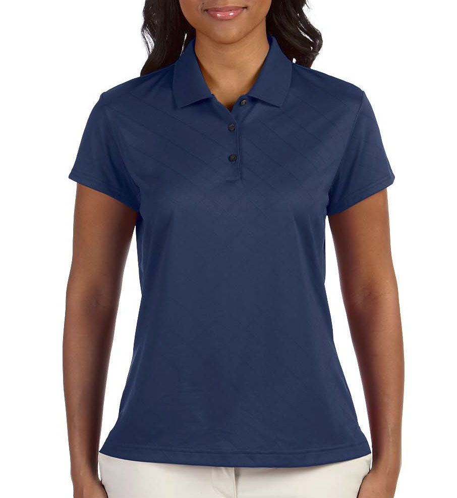 Adidas Golf Ladies ClimaCool® Diagonal Textured Polo