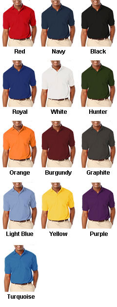 Mens Stain Release Wicking Polo - All Colors