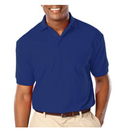 Custom Mens Stain Release Wicking Polo