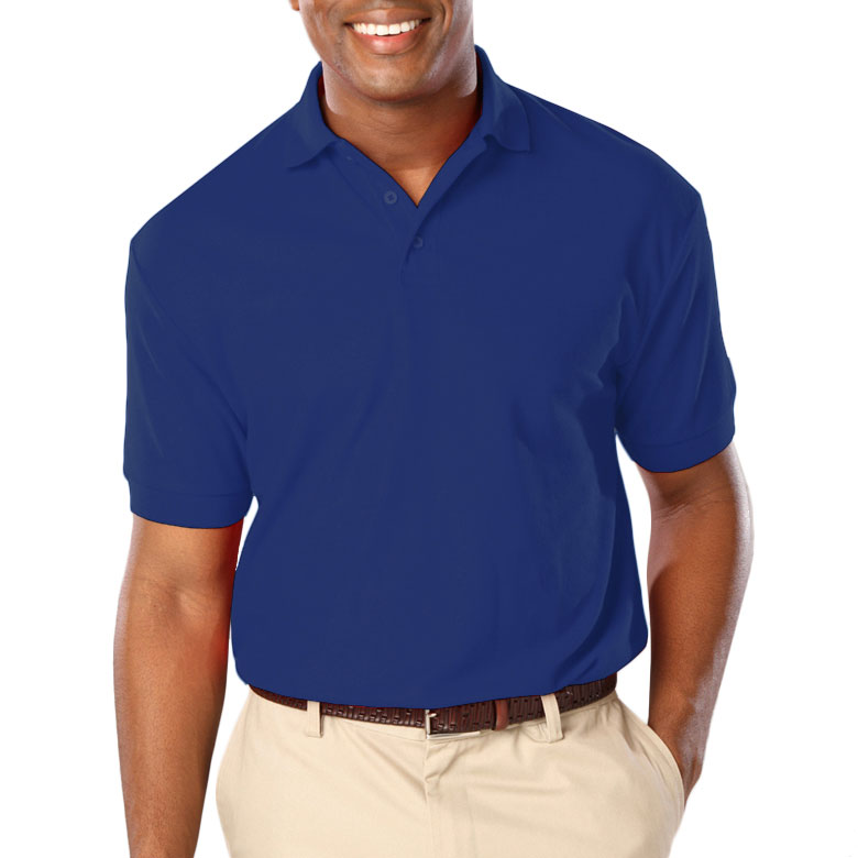 Mens Stain Release Wicking Polo