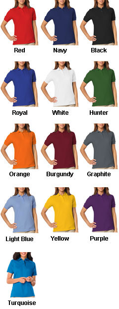 Ladies Stain Release Wicking Polo - All Colors
