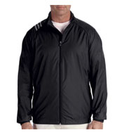 Custom Adidas Golf Mens 3-Stripes Full-Zip Jacket