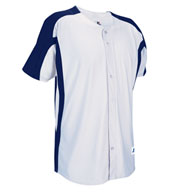 Custom Russell Athletic Mens Faux Full Button Placket Game Jersey