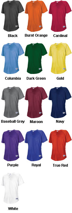 Russell Athletic Youth Two-Button Placket - All Colors