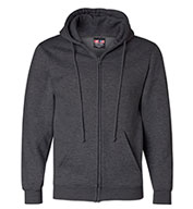 Custom USA Made Full-Zip Hooded Sweatshirt Mens