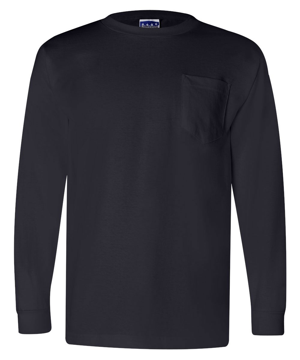 Union Made Long Sleeve Pocket Tee