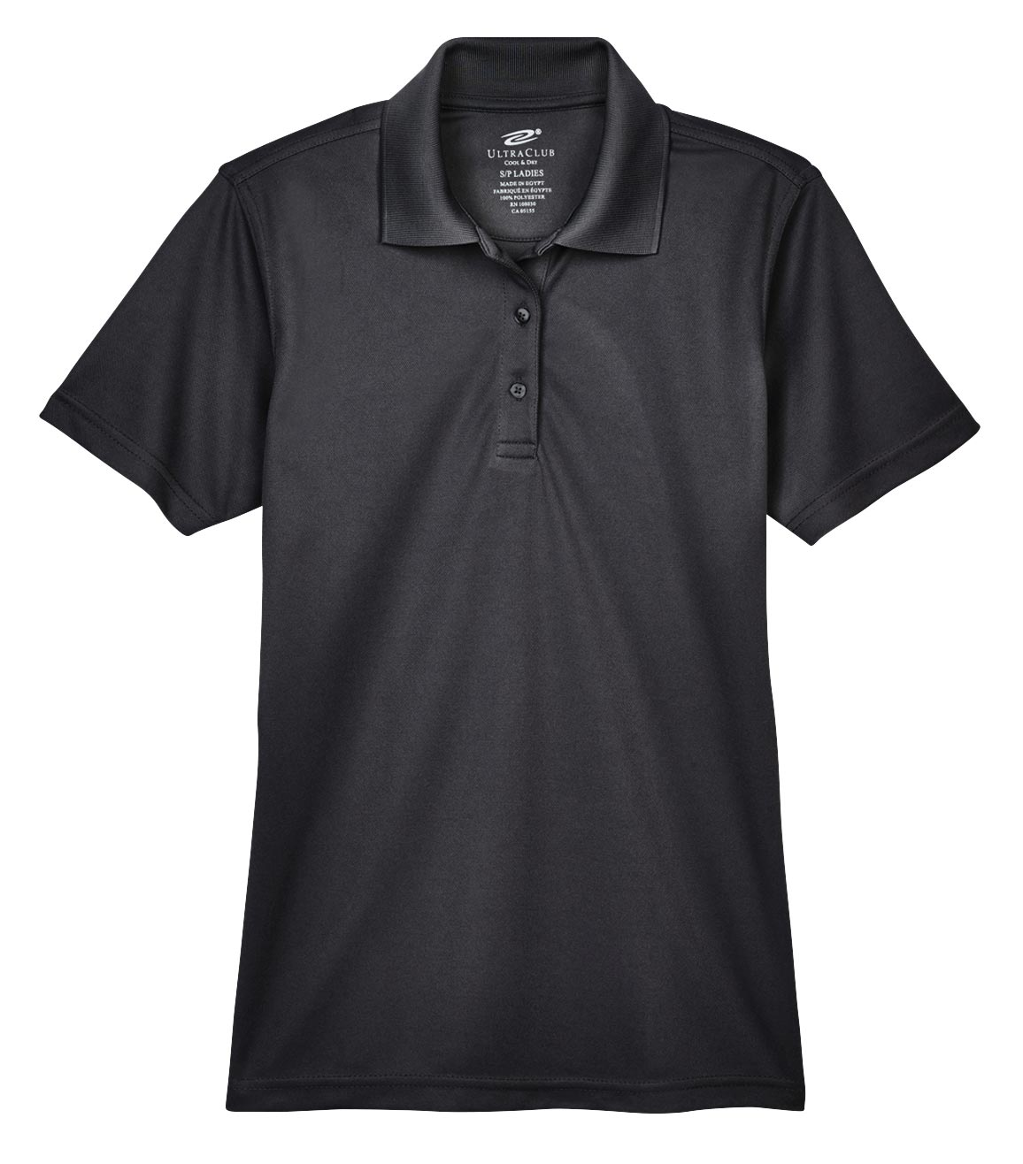 UltraClub Ladies Cool and Dry Mesh Pique Polo