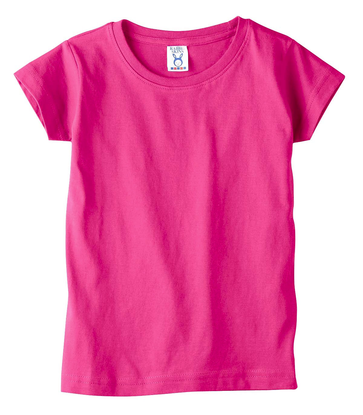 Rabbit Skins Toddler Girls Jersey Tee
