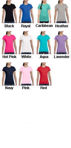 Youth Girls Fine Jersey Long T-Shirt - All Colors