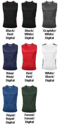 Badger Digital Sleeveless Tight Tee - All Colors