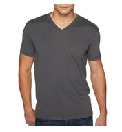 Custom Next Level Mens Premium Sueded V-neck T-Shirt