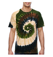 Custom Tie-Dye Adult 100% Cotton T-Shirt