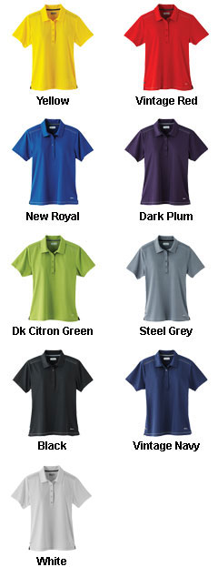 Womens Dunlay Short Sleeve Polo - All Colors