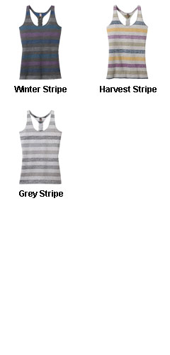 Juniors Reverse Striped Tank - All Colors