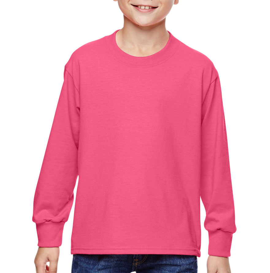 Fruit of the Loom Youth Long Sleeve T-Shirt