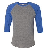 Custom Alternative Apparel Mens Eco-Jersey™ Baseball T-Shirt