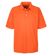 Custom UltraClub Mens Cool and Dry Stain Release Performance Polo