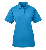 Custom UltraClub Ladies Cool and Dry Stain Release Polo Shirt