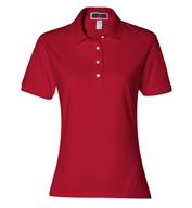Custom Jerzees Ladies SpotShield™ Jersey Polo
