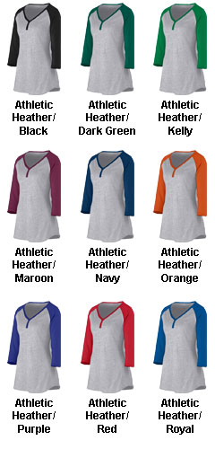 Ladies Rave Henley - All Colors