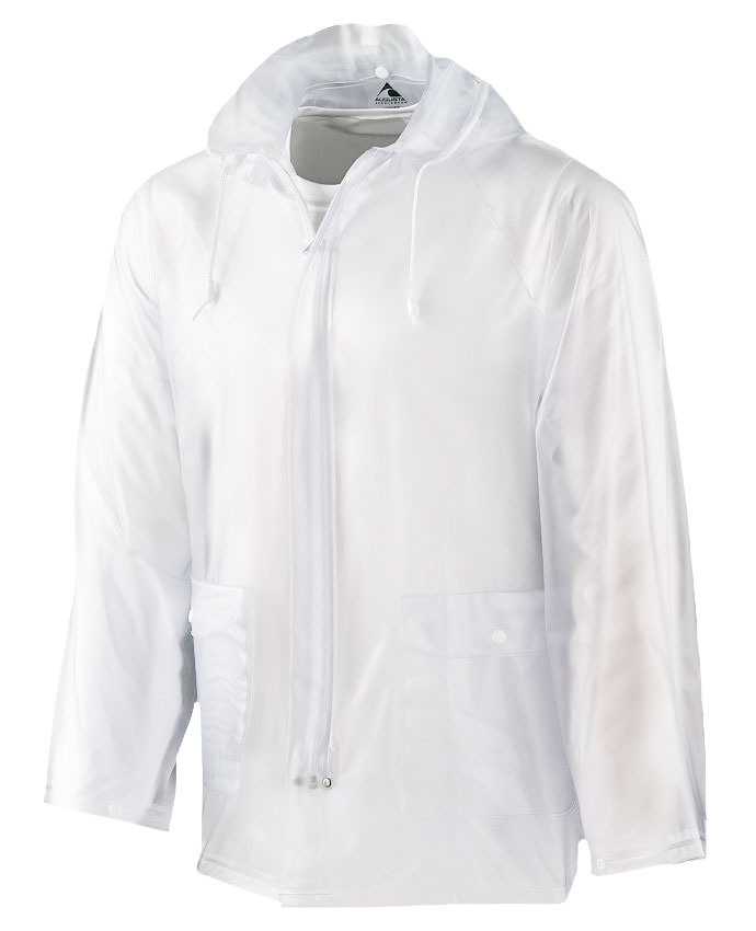 Augusta Adult Clear Rain Jacket