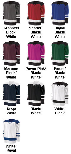 Holloway Youth Goalie Faceoff Jersey - All Colors