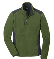 Custom Eddie Bauer®  Mens Full-Zip Sherpa Fleece Jacket Mens