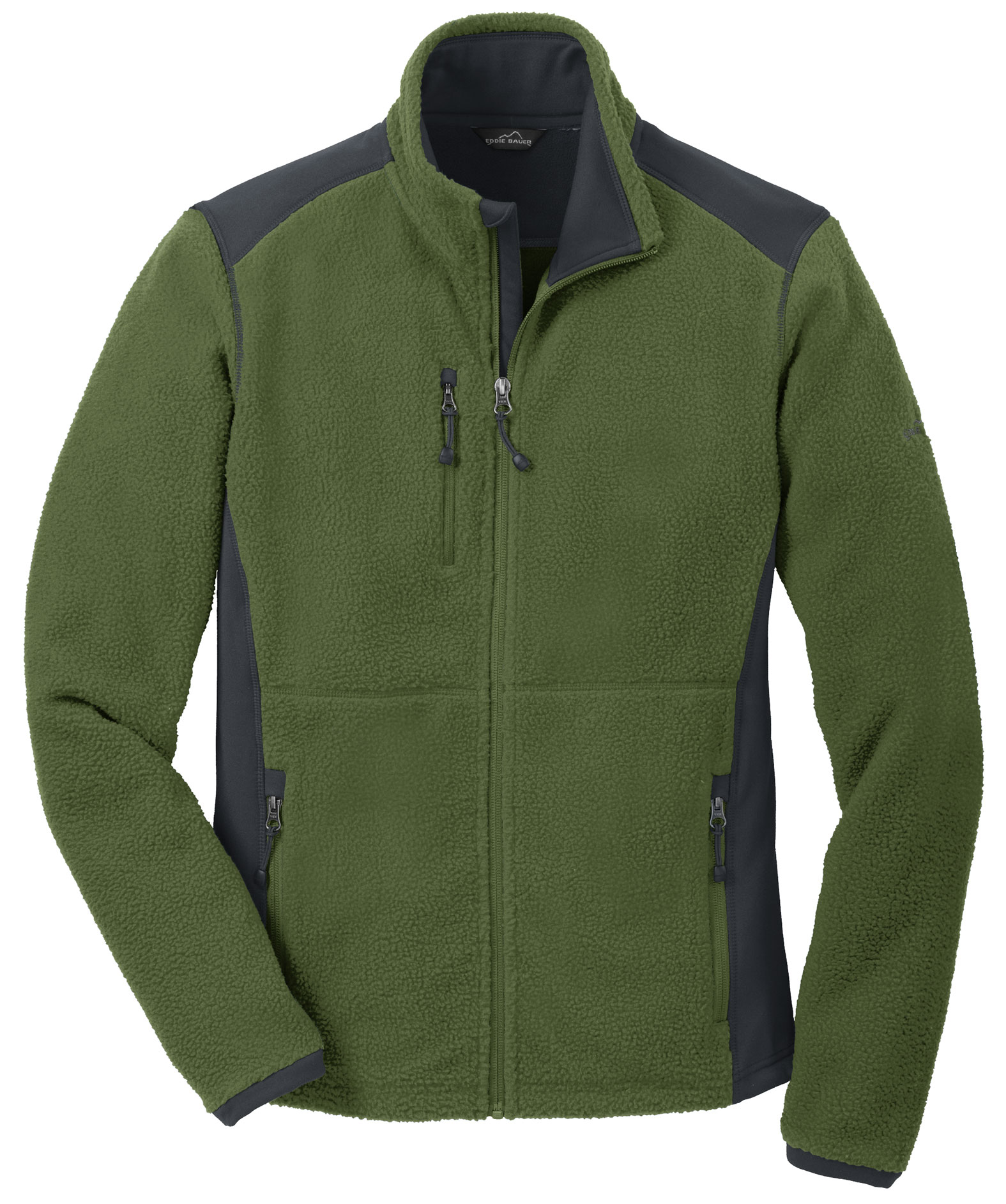 Eddie Bauer®  Mens Full-Zip Sherpa Fleece Jacket