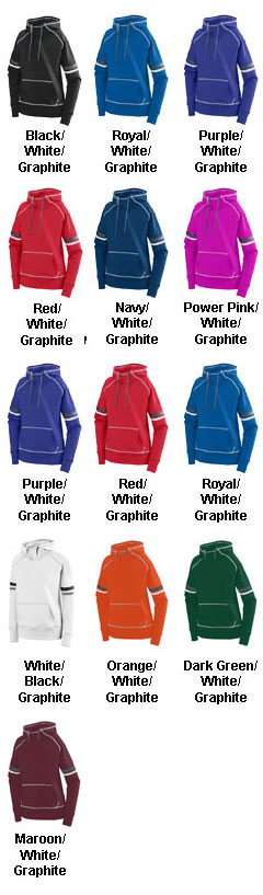 Ladies Spry Hoody - All Colors