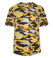 Custom Badger Mens Camo Tee