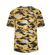 Badger Youth Camo Tee