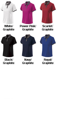 Ladies Commend Polo by Holloway USA - All Colors
