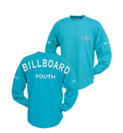 Custom Pennant Youth Billboard Crew Sweatshirt