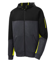Custom Adult Colorblocking Tech Fleece Full-Zip Jacket
