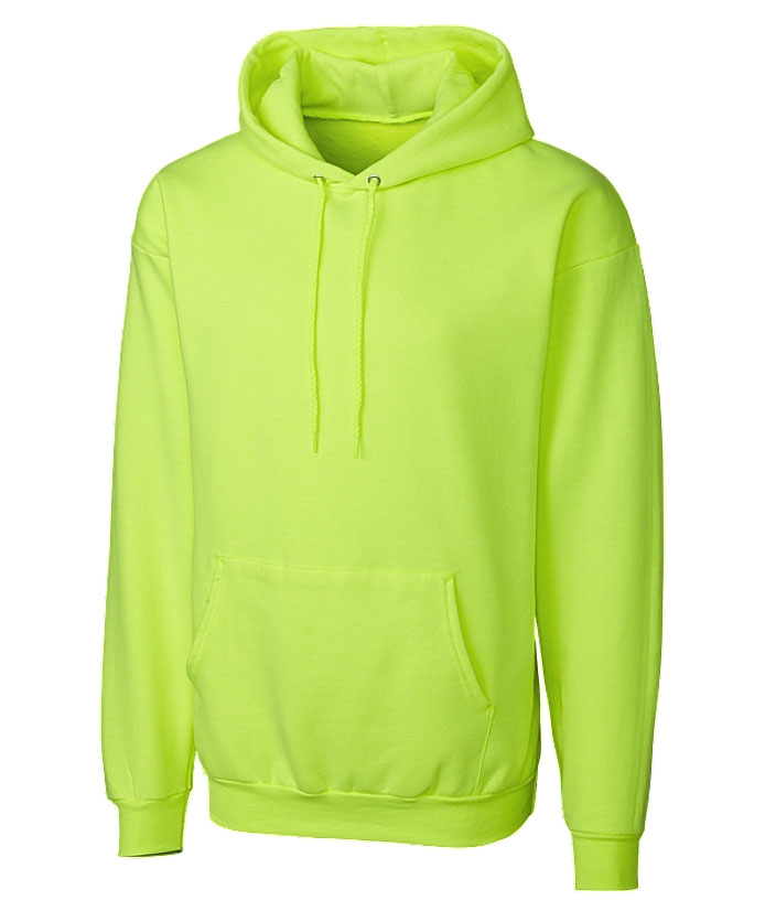 Mens Basic Fleece Pullover Hoodie