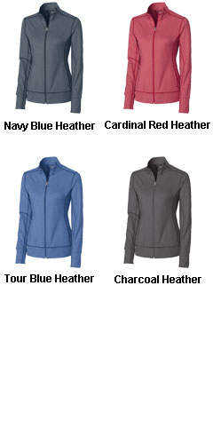 Ladies CB DryTec™ Topspin Full Zip - All Colors