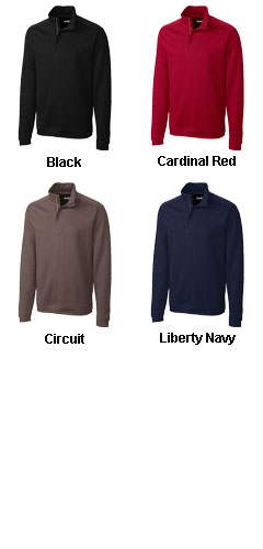 Mens Pima Decatur Half Zip in Big and Tall sizes - All Colors