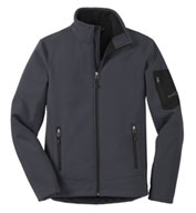 Custom Eddie Bauer® Mens Rugged Ripstop Soft Shell Jacket