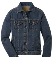 Custom Classic Ladies Denim Jacket